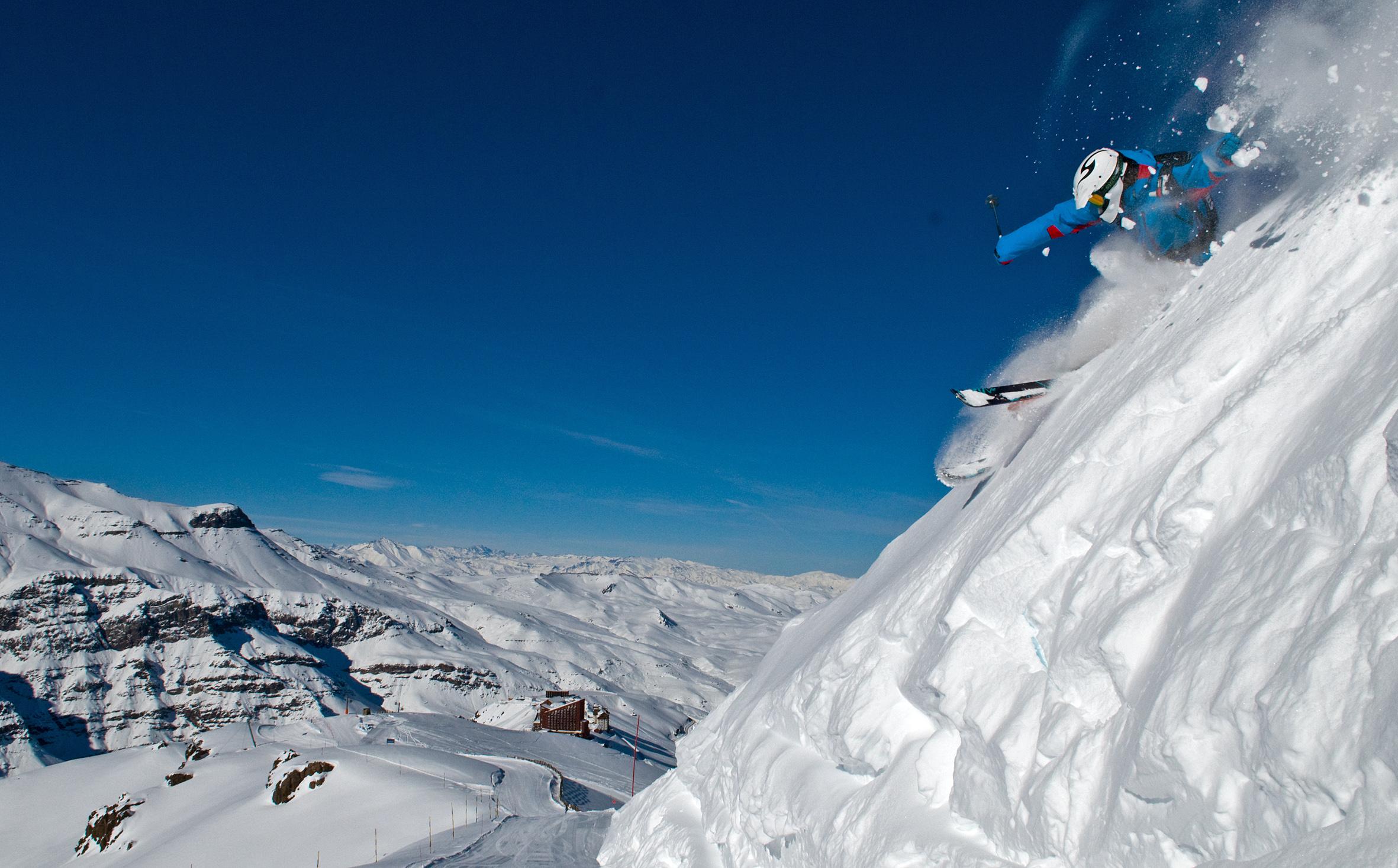 Santiago_Valle Nevado_Centro de Ski